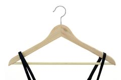 Coat Hanger. A close up shot opt a coat hanger Royalty Free Stock Photography