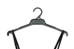 Coat Hanger. A close up shot opt a coat hanger Royalty Free Stock Photo