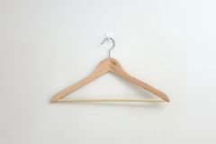 Coat Hanger. A close up shot opt a coat hanger Stock Photos