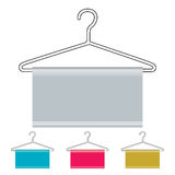 Coat hanger icon Stock Images