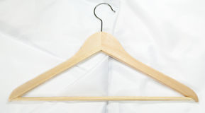 Coat hanger isolated Stock Photo