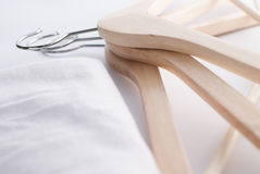 Coat hanger isolated Royalty Free Stock Image
