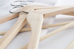 Coat hanger isolated Stock Image