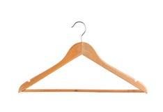 Coat hanger isolated on white background Stock Photos