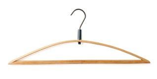 Coat hanger isolated on white Stock Image