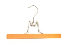 Coat hanger Royalty Free Stock Image