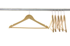Coat hangers Royalty Free Stock Photography