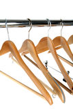 Coat hangers Stock Photography