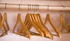 Coat hangers Royalty Free Stock Photos