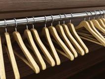 Coat hangers Royalty Free Stock Image