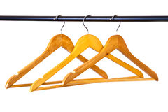 Coat hangers Royalty Free Stock Images