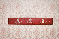 Coat hooks Royalty Free Stock Photos