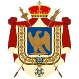 Coat Imperatoratora France of Napoleon Stock Photography