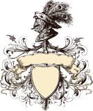 Coat Of Arms 27 Royalty Free Stock Photography