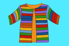 Free Coat Of Many Colors In The Biblical Story Of Jospeh Royalty Free Stock Images - 138656299