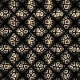 Coat pattern quilted broadly Stock Photos