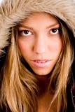 coat portrait winter woman young Στοκ εικόνα με δικαίωμα ελεύθερης χρήσης