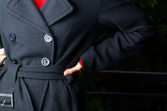 Coat's detail Royalty Free Stock Photography