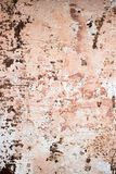 Coated metal. Decorative background of old metal, prone to corrosion. Decorative background of old metal, prone to corrosion.The rust on the metal shows through Royalty Free Stock Photography