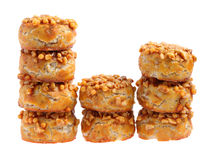Coated Peanut Cookie Stock Photo