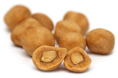 Coated Peanuts Stock Images