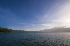 Coatepeque lake, El Salvador Royalty Free Stock Photography