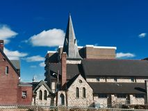 Coatesville Pennsylvania. Old church closed Stock Photo