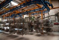 Coating plant Royalty Free Stock Photo