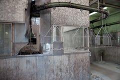 Coating plant Stock Image