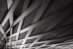 Coating of the Royal Welsh Bridge, Den Bosch, The Netherlands royalty free stock image