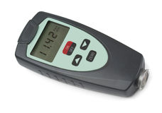 Coating Thickness Gauge Royalty Free Stock Photos