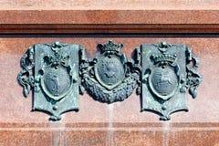 Coats of arms Stock Photos