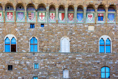 Coats of arms on a wall Royalty Free Stock Photos