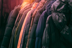 coats stock images