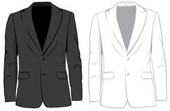Coats. Vector illustration Stock Photography