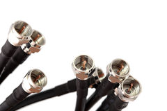 Coax cable Royalty Free Stock Photos