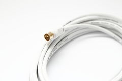 Coaxial cable Stock Image