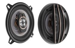 Coaxial car speakers stock photos