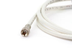 Coaxial connector Royalty Free Stock Photography