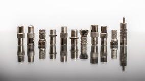 Coaxiale schakelaars Stock Afbeelding