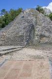 Coba main pyramid,Mexico Royalty Free Stock Image
