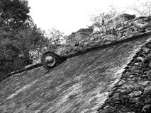 Coba Mayan Ball Court Royalty Free Stock Photos
