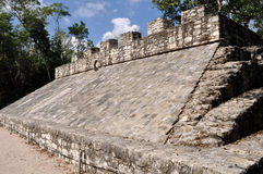 Coba Mayan Court Game Royalty Free Stock Images