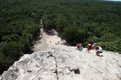 Coba Mayan temple Royalty Free Stock Photos
