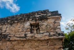 Coba, Mexico, Yucatan: Archeologische complex, ruïnes en piramides in de oude Mayan stad stock foto