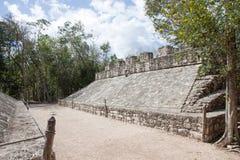 Coba ruins, Mexico Royalty Free Stock Photo