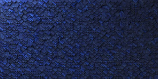 Cobalt blue abstract background with geometric shape Royalty Free Stock Images