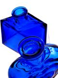 Cobalt Blue Bottles Royalty Free Stock Image