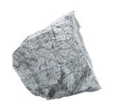 Cobaltite stone isolated on white Royalty Free Stock Photo