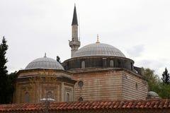 Coban Mustafa Pasha Mosque, Gebze. Royalty Free Stock Photos